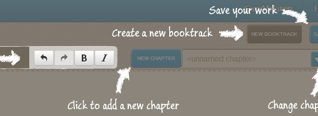 BookTrack Text